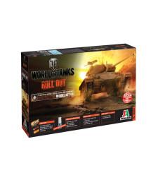 """1:35 Американски танк М24 """"Чафи"""" (M24 CHAFFEE) - World of Tanks"""