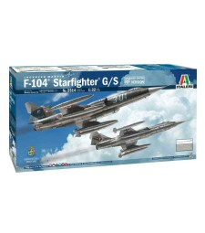 1:32 Изтребител F-104 STARFIGHTER G/S Upgr.Edit. RF Version - с гръцки декали