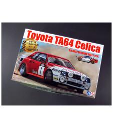 1:24 Състезателен автомобил Toyota TA64 Celica '85 Haspengouw рали версия