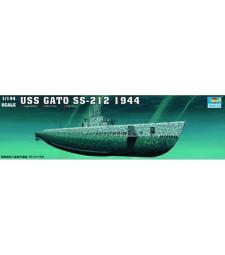 1:144 Американска подводница ГАТО СС-212 1944 (1:144 Sub.-GATO SS-212 1944)