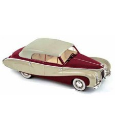 Austin A125 Sheerline Beige and Dark red