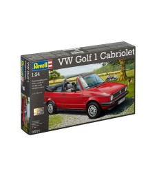 1:24 Автомобил VW Golf 1 Cabrio Convertible