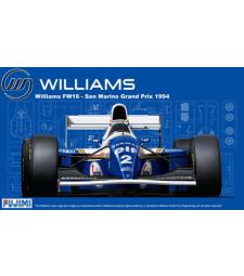 1:20 Състезателен болид Уилиямс ФВ16 Сан Mарино Гран При 1994 (Williams FW16 Sanmarino GP 1994 - Grand Prix series)