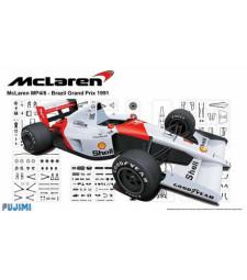 1:20 Болид Малкарън Хонда МП4-6 1991 Гран При на Бразилия (Mclaren Honda MP4-6 1991 Brazil - Grand Prix series)