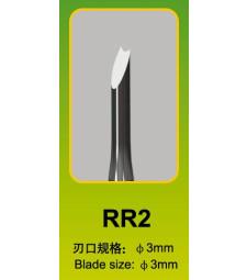 Длето Master Tools RR23mm, кръгъл връг
