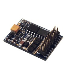 LokPilot V4.0 DCC decoder, with PluX22 NEM658, 9 outputs