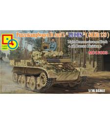 "1:16 Лек разузнавателен танк PzKpfW II Ausf.L ""Luchs"" (Sd Kfz 123), 4th Panzer Division"