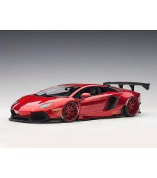 Liberty Walk LB-Works Lamborghini Aventador (metallic red, composite model/2 door openings)