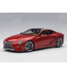 Lexus LC 500 Metallic Red - composite model with full openings