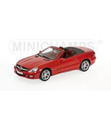 MERCEDES-BENZ SL-CLASS RED 2008