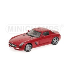 MERCEDES-BENZ SLS AMG - 2010 - RED METALLIC
