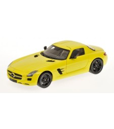 MERCEDES-BENZ SLS AMG - 2010 -YELLOW