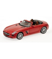 MERCEDES-BENZ SLS-CLASS - AMG ROADSTER - 2011 - RED METALLIC