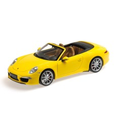 PORSCHE 911 CARRERA S CABRIO (991) - 2012 - YELLOW L.E. 750 pcs.