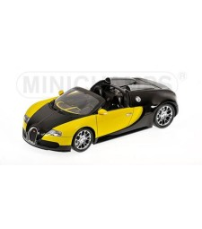 BUGATTI VEYRON GRAND SPORT - 2010 - BLACK & LEMON