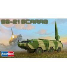 1:35 Съветска тактическа квазибалистична/балистична ракета с малък обсег ГРАУ 9К79 ОТР-21 Точка (Russian 9K79 Tochka, SS-21 Scarab, IRBM) - с меден кабел