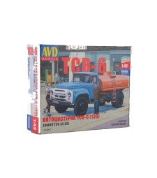 Tanker truck TSV-6 (ZIL-130) - Die-cast Model Kit