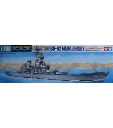 1:700 Американски боен кораб New Jersey BB-62