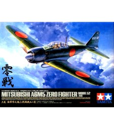1:32 Mitsubishi A6M5 Zero Fighter Model 52 (Zeke) - 2 figures