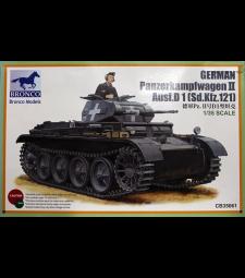 1:35 Германски танк PanzerKampfwagen II Ausf.D1 (Sd.kfz.121)