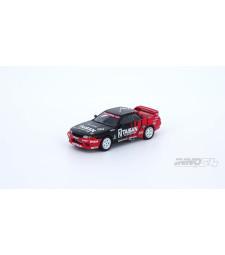 1991 Nissan Skyline GTR R32 #2 Taisan Jtc, Red/Black