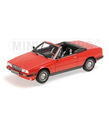 MASERATI BITURBO SPYDER - 1986 - RED
