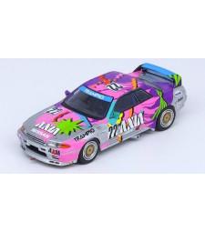 1992 Nissan Skyline GTR R32 #12 #22 Axia Jtc, Grey/Pink/Purple