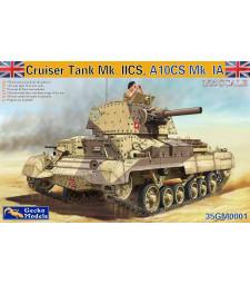 1:35 Британски танк Cruiser Tank A10 Mk.IA CS