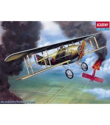 1:72 Френски биплан от Първата световна война WWI SPAD XIII