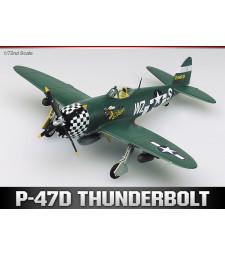 1:72 Aмерикански едноместен изтребител P-47D THUNDERBOLT EILEEN