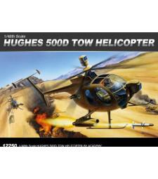 1:48 Американски военен хеликоптер Хюз 500Д (HUGHES 500D-TOW)