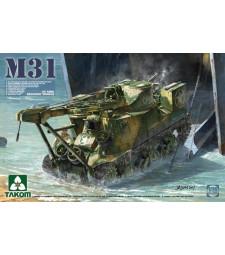 1:35 Американска ремонтно-евакуационна машина M31 (M31 US TANK RECOVERY VEHICLE)