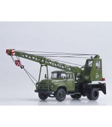 Crane truck AK75V (ZIL-130) /khaki/