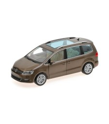 VOLKSWAGEN SHARAN - 2010 - BROWN METALLIC