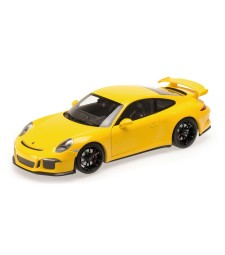 PORSCHE 911 GT3 (991) - 2013 - YELLOW WITH BLACK WHEELS L.E. 300 pcs