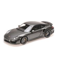 PORSCHE 911 TURBO S – 2016 – GREY METALLIC L.E. 504 PCS.