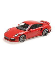 PORSCHE 911 TURBO S – 2016 – RED L.E. 504 PCS.