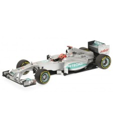 MERCEDES AMG F1 TEAM - SHOWCAR - MICHAEL SCHUMACHER - 2012 L.E. 1200 pcs.