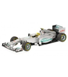 MERCEDES AMG F1 TEAM - SHOWCAR - NICO ROSBERG - 2012 L.E. 504 pcs.