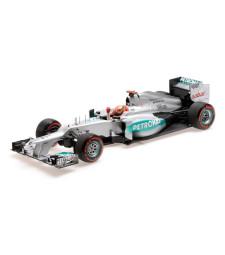 MERCEDES AMG PETRONAS F1 TEAM W03 - MICHAEL SCHUMACHER - POLE POSITION MONACO GP 2012