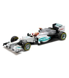 MERCEDES AMG PETRONAS F1 TEAM W03 - MICHAEL SCHUMACHER - 3RD PLACE EUROPEAN GP 2012 L.E. 2093 pcs.