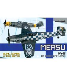 1:48 Mersu-Комплект от два финландски модела Месершмит: Bf 109G-2 и Bf 109G-6