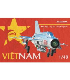 1:48 Виетнам - МИГ-21ПФМ, лимитирано издание (Vietnam-MiG-21PFM)
