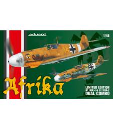 1:48 Комплект от два модела германски самолети Месершмит Бф 109Ф и Бф 109Г-2, Африка (Afrika DUAL COMBO)