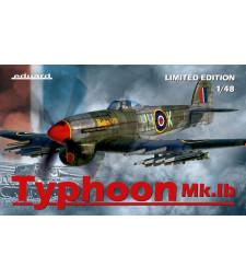 1:48 Британски изтребител Тайфун Мк Iб (Typhoon Mk.Ib) - лимитирано издание