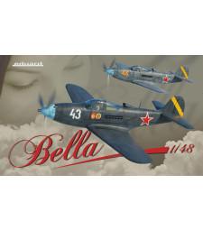 """1:48 Съветски вариант на P-39 Airacobra """"Bella"""" - комплект от два модела"""