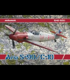 1:48 Чехословашки изтребител-биплан Avia S-99 / C-10 - лимитирано издание