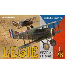 1:48 Френски изтребител Legie - SPAD XIIIs, използван от чехословашки пилоти