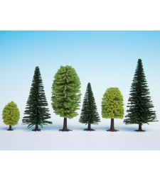 Смесена гора, 10 дървета, 5 - 14 cm