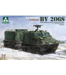 1:35 Шведски БТР Bandvagn Bv 206S с интериор (Bandvagn Bv 206S Articulated Armored Personnel Carrier)